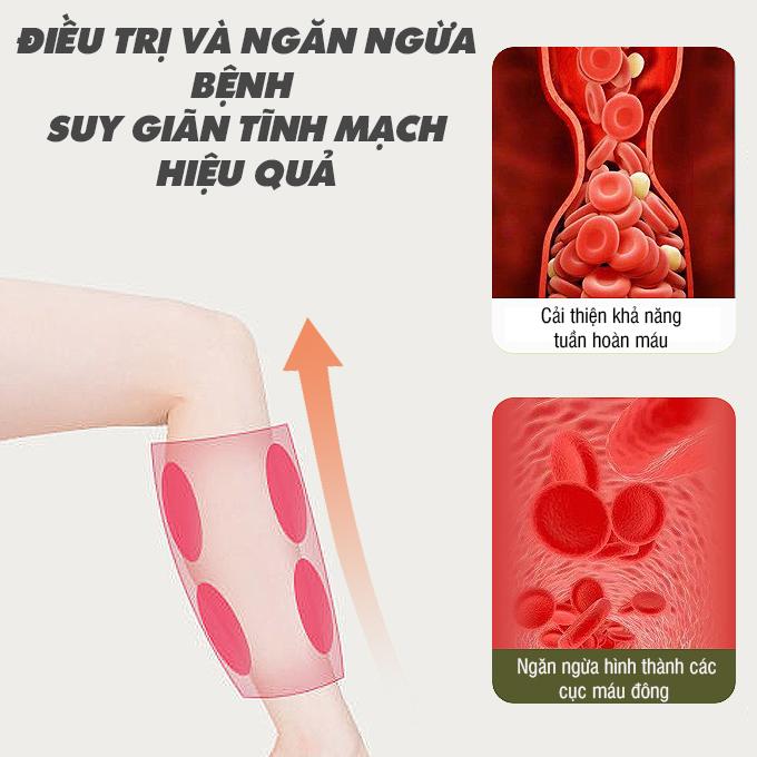 may massage chan okachi jp 3000 plus 2 - Máy nén ép trị liệu suy giãn tĩnh mạch OKACHI LUXURY JP-3000 Plus (Pin sạc)