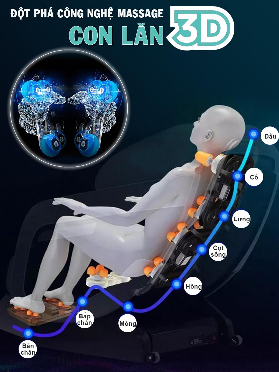 ghe massage okachi Luxury Star JP I 9 xanh 9 - Ghế massage toàn thân OKACHI LUXURY Star JP-I9 (xanh)
