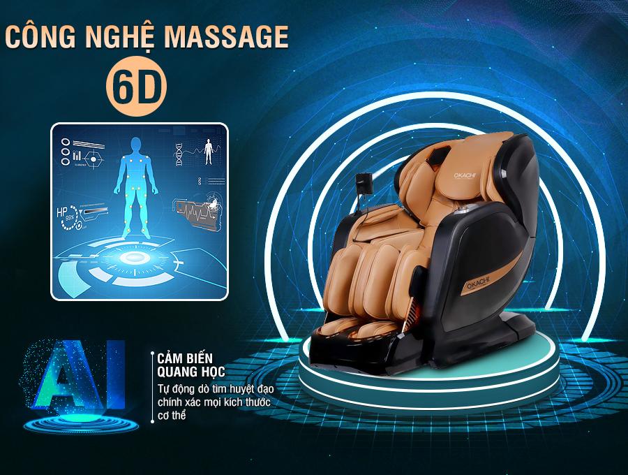 ghe massage okachi jp i 99 8 - Ghế massage toàn thân OKACHI LUXURY JP-I99