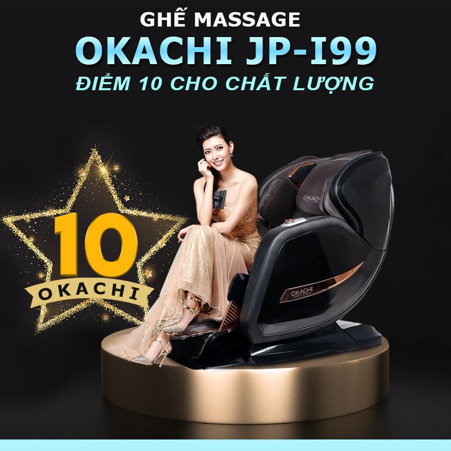 ghe massage okachi jp i 99 den 11 - Ghế massage toàn thân OKACHI LUXURY JP-I99